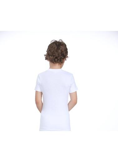 2'Li Pamuklu Likralı Tişört-Zeyzey